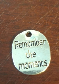 Remember the moments charm