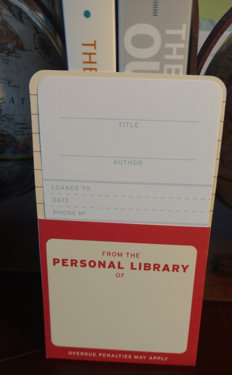 Personal Library Card