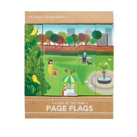 A Day in the Park page flags from Girl of All Work