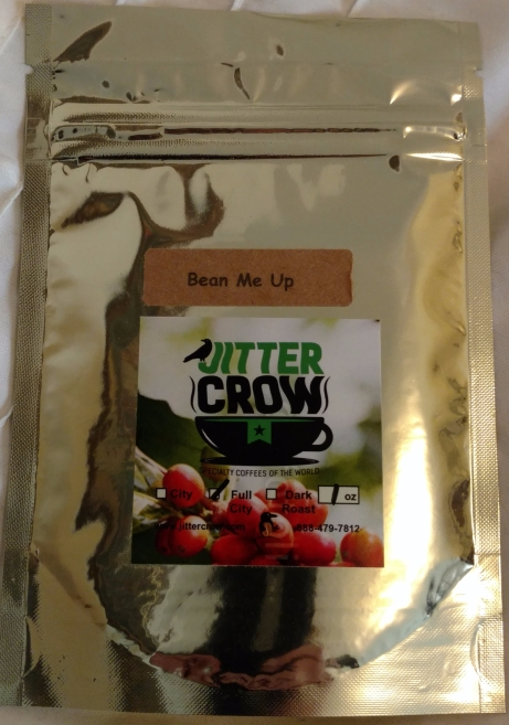 Jitter Crow coffee Bean Me Up