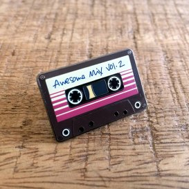 Mix Tape Soft Enamel Lapel Pin.jpg